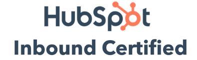 Positie1 is trots Hubspot Inbound Certified