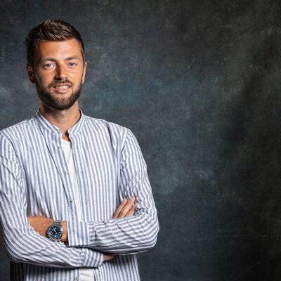 Frens van der Sluis, projectmanager bij Positie1