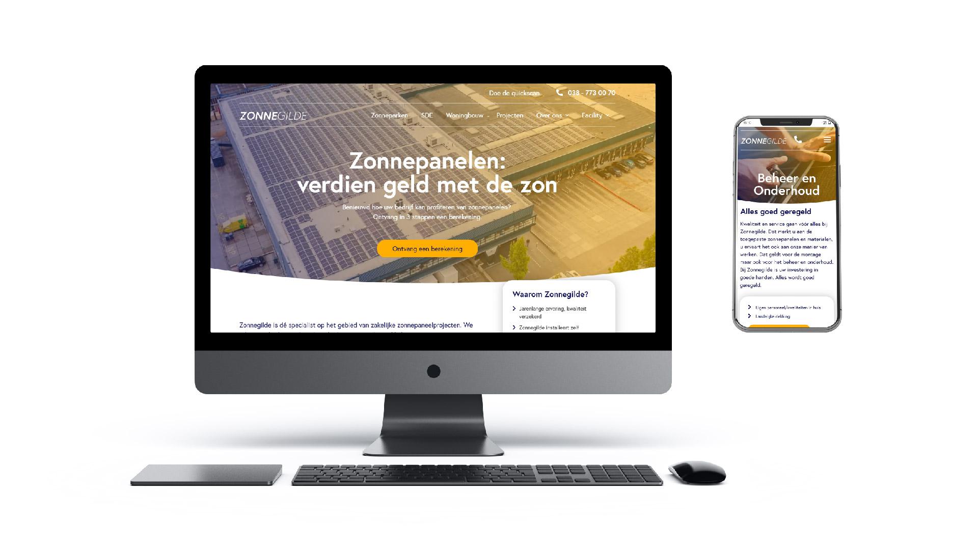 Nieuwe website zonnegilde blog