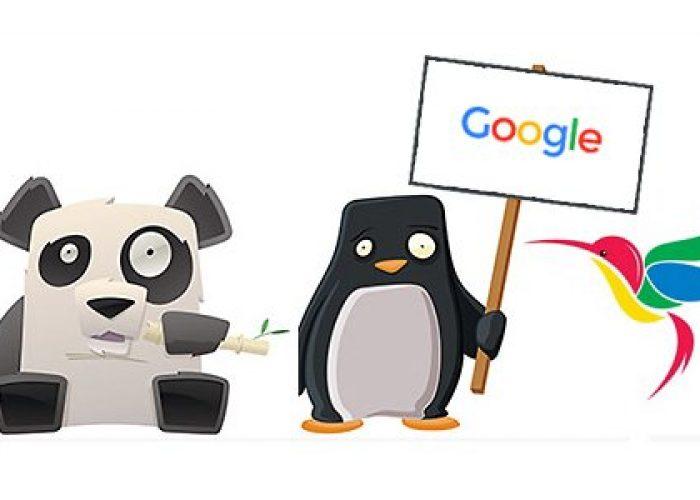 google-penguin-panda-hummingbird-updates